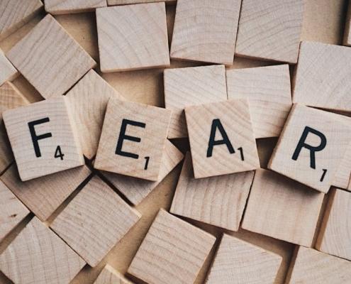 Angst zu scheitern